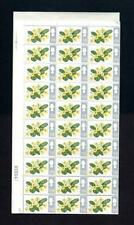 1/9 FLOWERS (NON-PHOSPHOR) COMPLETE UNMOUNTED MINT SHEET OF 120