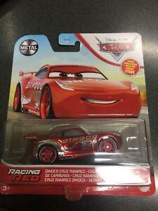2021 DISNEY CARS RACING RED DINOCO CRUZ RAMIREZ - BRAND NEW