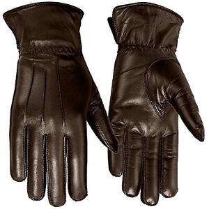 Winter Gloves Thermal Linning Lambskin Sheep Leather Car Driving Men's & Women