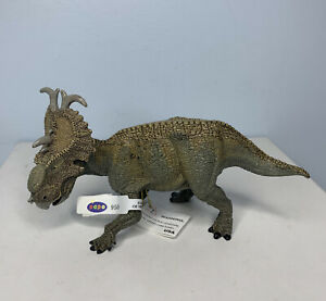 "Papo Pachyrhinosaurus Action Figure 6"" Prehistoric Collectible Ceratopsian 2009"