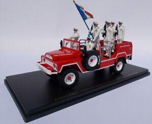 ALERTE0087 - Voiture de défilé porte drapeau des Marins Pompiers de Marseille AC