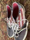Vans shoes flag Red White Blue USA 10.5 Men's RARE