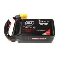 Venom Graphene 90C 4S 1500mAh 14.8V Drone Racing LiPo Battery with UNI 2.0 Plug