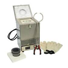 Hardin HD-234SS Stainless Steel Tabletop Melting Furnace with 2kg Crucible 110V