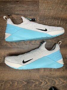 New Nike React Metcon Womens Training Shoes Light Cream Aurora Green Size 13