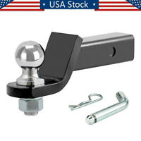 Trailer Hitch Ball Mount 2 In Drop With 2 5/16 In Ball & Hitch Pin 2 In Receiver