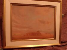 Original Oil on board Southwest / Texas Art Painting signed Donalee  *Worldwide*