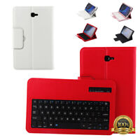 "For Samsung Galaxy Tab A 10.1"" T580 Stand Case Cover +Bluetooth Keyboard US"