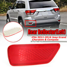 Reflector Light Rear Left Bumper Fog Lamp Cover for Jeep Grand Cherokee