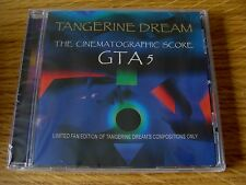 CD Album: Tangerine Dream : GTA5 : Grand Theft Auto V Score Ltd Ed 2000 Sealed