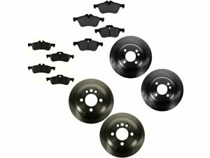For 2002-2006 Mini Cooper Brake Pad and Rotor Kit Front and Rear 89649ZK 2003