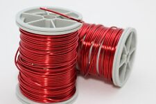 Red Jewellery Wire 20,22,28 Gauge, Craft Wire, Enameled Copper Finding Making