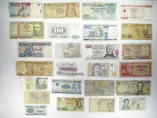 Misc. Countries Banknotes - 25 Pieces - Collections & Lots - World Paper Money