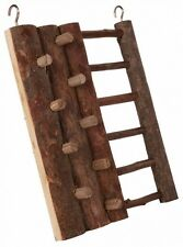 Hamster Toy CLIMBING WALL & LADDER Real Wood Wooden Toy Mouse Gerbil etc 16�—20cm