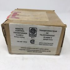 NEW GE RT1 Remote Control Transformer Class 2 Energy Limiting 120-24V 40VA Cont