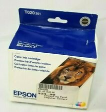 Genuine EPSON T020 201 Color Ink Cartridge For Stylus 880 880i Exp 01/2015