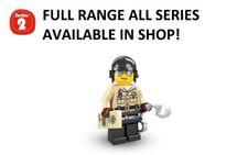 Building Series 2 LEGO Minifigures