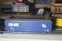 MONTANA RAIL LINK   BOX 50 FOOT CAR1/87 HO built rtr METALS WHEELS