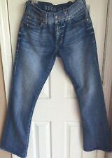 Guess Jeans Low Rise Boot Cut Stonewash Jeans Women's 30 x 32
