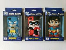 iPhone 4 4/s DC Chara Covers Figure Skin Case Batman Superman Harley Quinn Lot 3