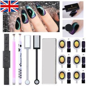 9D Cat Eye Magnetic Stick for UV Gel Polish Multi-function Nail Art Magnet Board