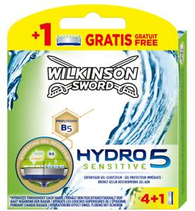 Wilkinson Sword Hydro5 Sensitive 4+1 OVP Rasierklingen Auswahl 5 10 15 20 25 50