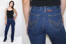Vintage 80s LANDLUBBER High Waist Embroidered Pocket Retro Denim Mom Jeans 25x32