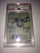2016 Leaf Draft Yellow Printing Plate #A-JH1 Jordan Howard Retail Auto - 1 of 1