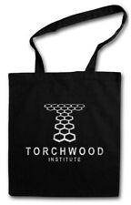 Torchwood Institute Tessuto Logo Borsa scifi TV Series DOCTOR WHO SIMBOLO sign