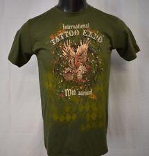 Mad Engine Mens 10th Annual International Tatoo Expo Tee Shirt New M
