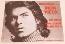 Partition vintage sheet music DANIEL GUICHARD / JEAN FERRAT : Mon Vieux * 60's