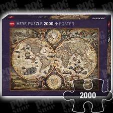 Heye maps jigsaw puzzles ebay new sealed heye vintage world antique map 2000 piece jigsaw puzzle gumiabroncs Choice Image
