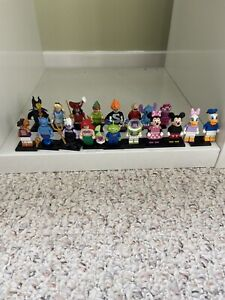 LEGO 71012 Disney Series 1 Minifigures- 100% Complete, set of 18