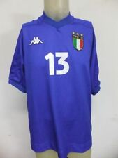 MAGLIA INDOSSATA MATCH WORN SHIRT ITALY ITALIA KAPPA Nà13