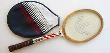 Raquette Tennis bois ancienne - ADIDAS Ilie Nastase - Housse - ADS 040