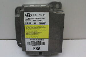12 13 Hyundai Veloster 95910-2V000 SRS Safety Restraint System Control Module