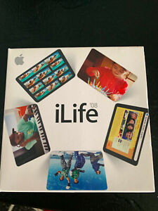Apple ILife for Mac iWork Garageband iWeb IDVD iMovie iPhoto in BOX Complete