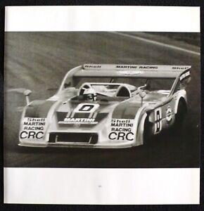 1974 Interserie Martini Racing PORSCHE 917/30 Photo Print