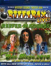RiffTrax Live!: Reefer Madness Blu-ray Region A BLU-RAY/WS