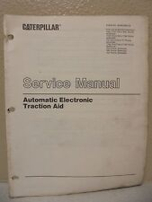 CATERPILLAR AUTOMATIC ELECTRONIC TRACTION AID CAT SERVICE MANUAL