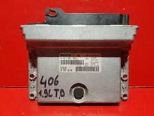 PEUGEOT 406 CITROEN XANTIA 1.9TD CALCULATEUR MOTEUR ECU 9624519580 0281001262