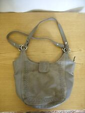 "Ladies Handbag Hotter, fawn leather & suede, size 11x11x5"" plus handles 3388"