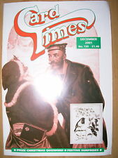 CARD TIMES MAGAZINE FORMERLY CIGARETTE CARD MONTHLY No 139 DECEMBER 2001