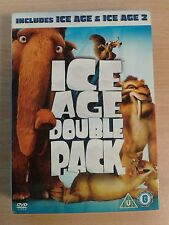 DVD Film  * ICE AGE DOUBLE PACK - ICE AGE AND ICE AGE 2 * DVD Set *