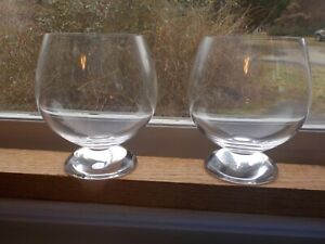 Lot of 2 Riedel Brandy Glasses Snifters