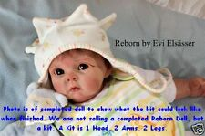 REBORN DOLL KIT, CHRISSY BY ELLY KNOOPS, VINYL KIT