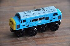 THOMAS Tank Wooden Railway Engine Diesel D199 Excellent condition