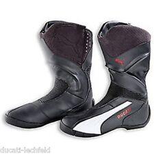 DUCATI Puma SUPER RIDE Stiefel Motorradstiefel Boots Shoes schwarz NEU