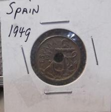 1949 Spain 50 Centimos Spanish Clad World Coin Circulated 537