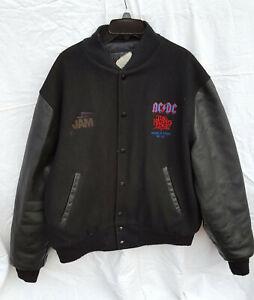 AC/DC The Razor's Edge 90-91 Varsity Style Tour Sz XL Jacket